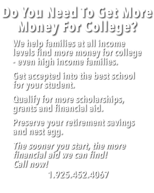 Your family can get more money for college